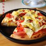 脆底海鲜披萨