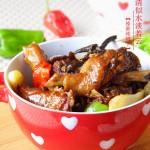 榛蘑炖鸭子