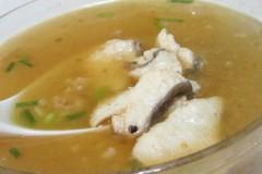 鱼片肉末汤