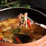 涮羊肉火鍋