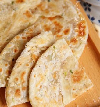 椒盐葱花酥饼