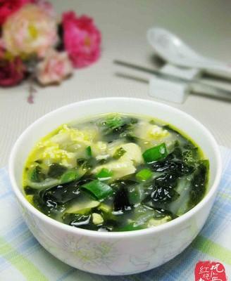 紫菜萝卜鸡蛋汤