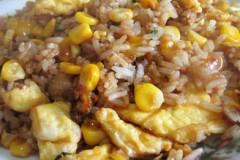 甜玉米蛋炒饭