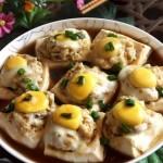 鱼肉酿豆腐