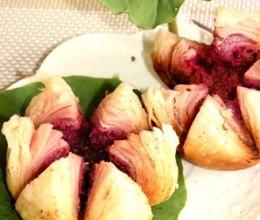 紫薯荷花酥