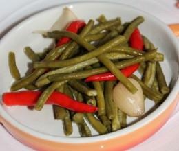 自制泡酸豇豆