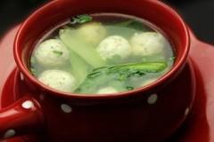 小油菜鱼丸汤