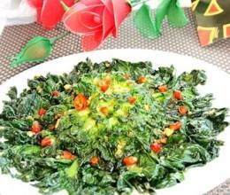 清炒菊花菜