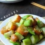 丝瓜烩老油条