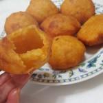 油炸南瓜豆渣饼