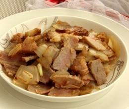 洋葱炒腊肉