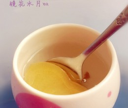 蜜汁姜片茶