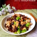 木耳香菇肉片