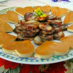香肠豆片冷盘