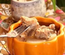 萝卜煨排骨汤