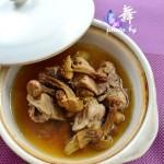 姬松茸炖排骨