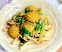鲍鱼海鲜菇