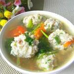西紅柿肉丸湯