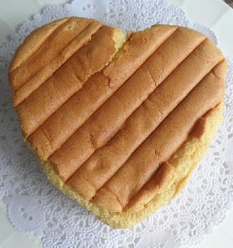 心形戚风蛋糕