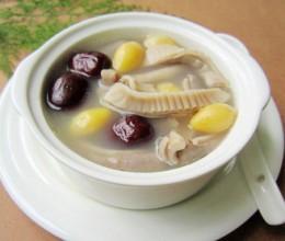 猪肚白果汤