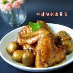 台式三杯蘑菇鸡翅