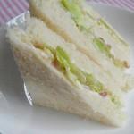 玉米粒三明治