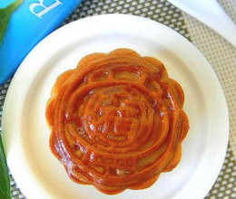 椰蓉绿豆馅月饼