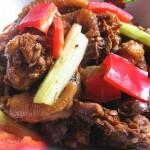 香菇焖土鸡