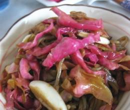 泡菜苕粉肉丝
