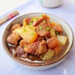 猪肉炖萝卜