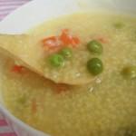 小米豌豆粥