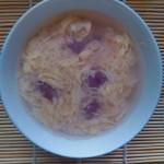 酒酿紫薯小汤圆