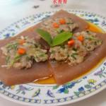 葱香蘑芋豆腐