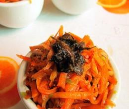橄榄菜炝萝卜丝