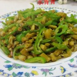 尖椒咸豆角