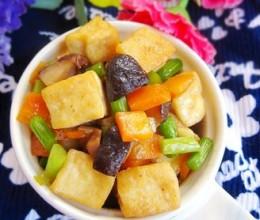 三丁烧豆腐