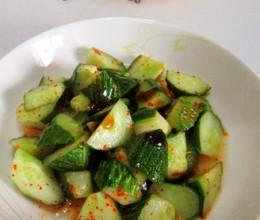 蚝油炝黄瓜