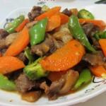 胡萝卜炒羊肉