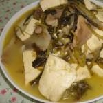 雪里红炖豆腐