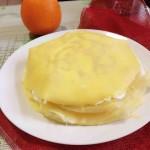 橘子千層蛋糕