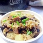腊肉土豆焖饭#美的原生态AH煲#