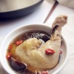 香菇炖鸡汤#美的原生态AH煲#