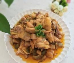 鸡肉焖榨菜