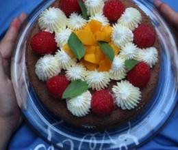 树莓裸蛋糕