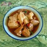 郫县酱炖豆腐肉