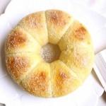 酸奶花环面包