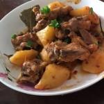 土豆燒排骨(川味)