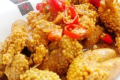 小米辣烧鱼籽