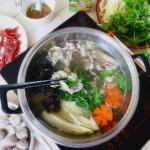 羊肉雜蔬火鍋