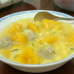 南瓜疙瘩汤